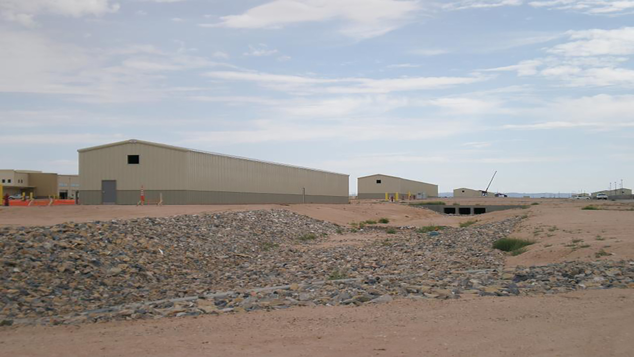 US Depts of the Navy Deployment Storage Building - BCT No. 2